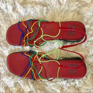 Mootsie Tootsies Rainbow 🌈 Sandals